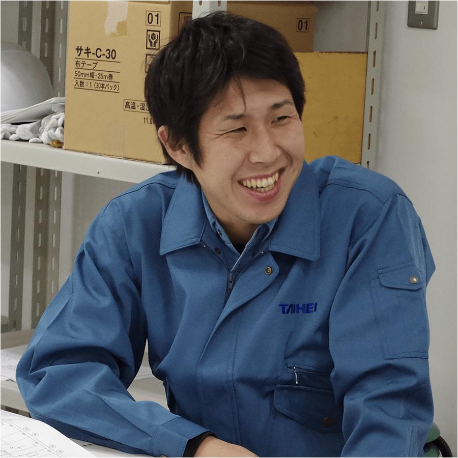 施工管理職 金澤将平 2013年入社/工学部卒