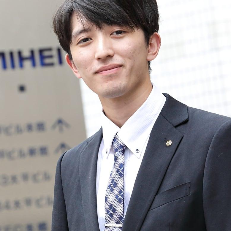 メンテナンス職 山岸光毅 2019年入社/経済学部卒