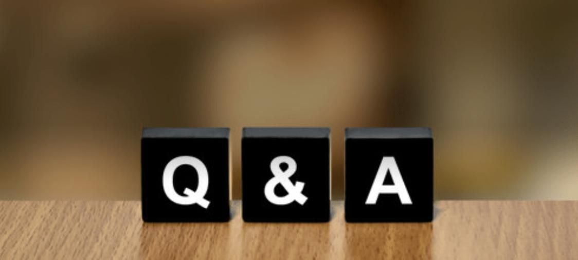 よくある質問と回答画面へ